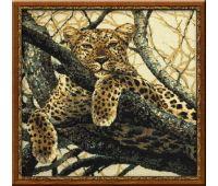 """937 Набор для вышивания """"Риолис"""" Леопард 60х60 см"""