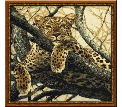 """937 Набор для вышивания """"Риолис"""" Леопард 60х60 см, 937"""