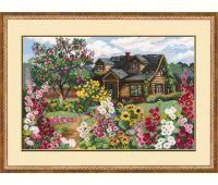 """978 Набор для вышивания """"Риолис"""" Цветущий сад 38х26 см"""