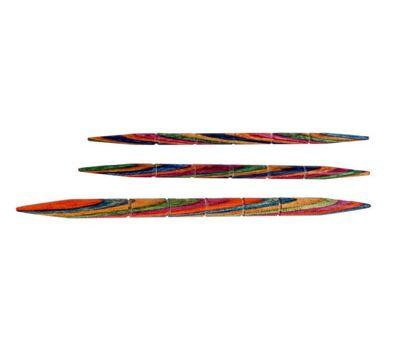 20501 Knit Pro Спицы вспомогательные для кос 3,25мм/80мм, 4мм/85мм, 5,5мм/105мм, дерево, 3шт в упаковке, 20501