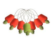 """10931 Knit Pro Маркер для вязания """"Orange Lily"""" /Оранжевая лилия/ пластик, 7шт в упаковке"""