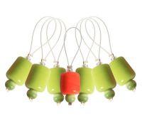 "10936 Knit Pro Маркер для вязания ""Holly""/Падуб/ пластик, 7шт в упаковке"