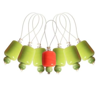 "10936 Knit Pro Маркер для вязания ""Holly""/Падуб/ пластик, 7шт в упаковке, 10936"