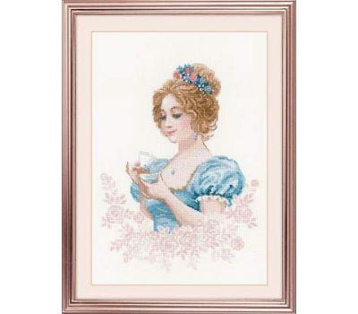 """1791 Набор для вышивания """"Риолис"""" Чайный клуб 21х30 см, 1791"""
