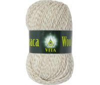Vita Alpaka wool Светлый бежевый меланж