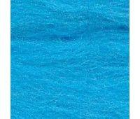 Троицкая камвольная фабрика Гребенная лента полутонкая голубая бирюза