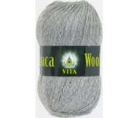 Vita Alpaca wool Серый меланж