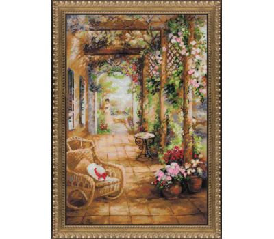 """100/043 Набор для вышивания """"Риолис"""" Свидание в саду 40х60 см, 100/043"""