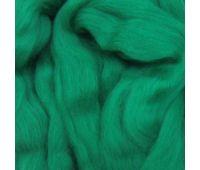 Пехорский текстиль Наборы для рукоделия Шерсть для валяния ПОЛУтонкая  Изумруд