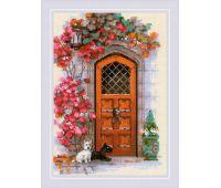 """1832 Набор для вышивания """"Риолис"""" Дверь в Шотландию 21х30 см"""