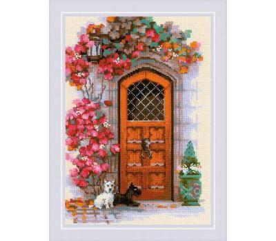 """1832 Набор для вышивания """"Риолис"""" Дверь в Шотландию 21х30 см, 1832"""