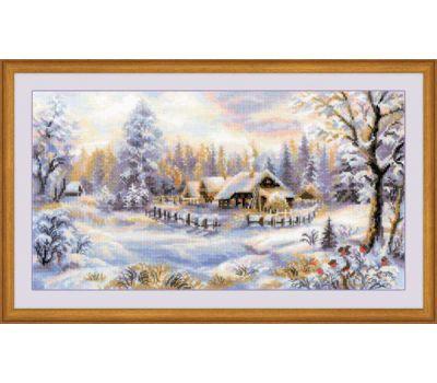 """1427 Набор для вышивания """"Риолис"""" Зимний вечер 41х23 см, 1427"""