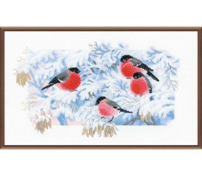 """1388 Набор для вышивания """"Риолис"""" Морозное утро 40х24 см, 1388"""