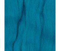 Пехорский текстиль Наборы для рукоделия Шерсть для валяния ПОЛУтонкая  Тем бирюза