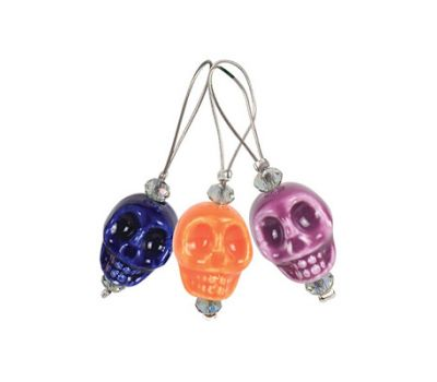 "11253 Knit Pro Маркер для вязания ""Skull Candy"" /Череп/, пластик, 12шт  в упаковке, 11253"