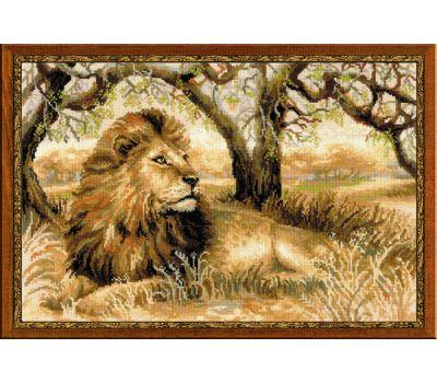 """1261 Набор для вышивания """"Риолис"""" Царь зверей 60х40 см, 1261"""