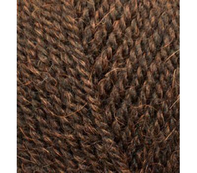 Alize Alpaca Royal Темно коричневый, 201