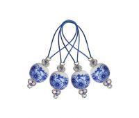 "11256 Knit Pro Маркер для вязания ""Blooming Blue"" /Синее цветение/ пластик, 12шт  в упаковке"