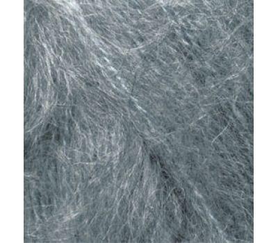 Alize Mohair classic NEW Серый меланж, 412
