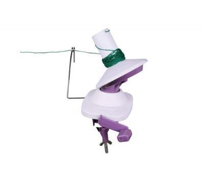 10941 KnitPro Машинка для намотки клубков, ручная, пластик/металл, белый/фиолетовый, 10941