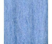 Троицкая камвольная фабрика Гребенная лента полутонкая Св голубой