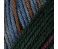 Пряжа Schachenmayr Regia Premium Merino Yak Color /Мерино Як Колор/, 4 нитки (58% шерсть мериноса, 28% полиамид, 14% шерсть яка), 5*100г/400м (08506, New!) 9801640