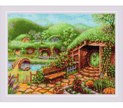 """1904 Набор для вышивания """"Риолис"""" Зеленые холмы 40*30 см, 1904"""