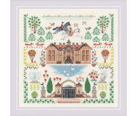 """1917 Набор для вышивания """"Риолис"""" Мой дом 5*35 см"""