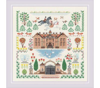 """1917 Набор для вышивания """"Риолис"""" Мой дом 5*35 см, 1917"""