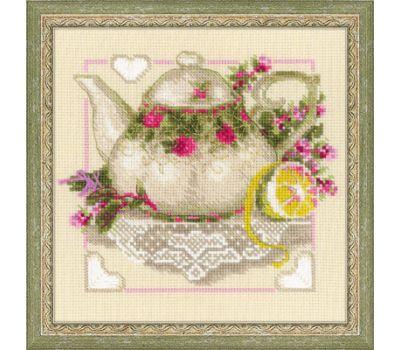 """1477 Набор для вышивания """"Риолис"""" Чай с лимоном 20*20 см, 1477"""