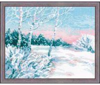 """1541 Набор для вышивания """"Риолис"""" Зимнее утро"""