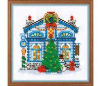 """1662 Набор для вышивания """"Риолис"""" Ледяной домик 15*15 см"""