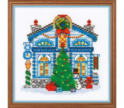 """1662 Набор для вышивания """"Риолис"""" Ледяной домик 15*15 см, 1662"""