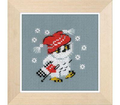 """1667 Набор для вышивания """"Риолис"""" Снежок 9*9 см, 1667"""