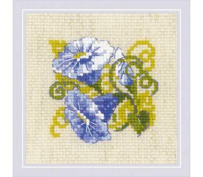 """1842 Набор для вышивания """"Риолис"""" Вьюнок 13х13 см , 1842"""