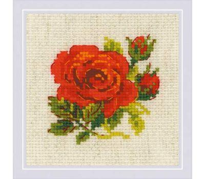 """1843 Набор для вышивания """"Риолис"""" Розочка 13х13 см, 1843"""