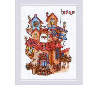 """1844 Набор для вышивания """"Риолис"""" Сказочный домик 18х24 см, 1844"""