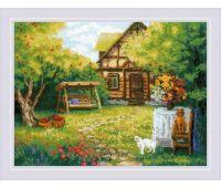 """1845 Набор для вышивания """"Риолис"""" Загородный домик 40х30 см"""