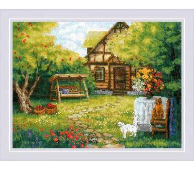 """1845 Набор для вышивания """"Риолис"""" Загородный домик 40х30 см, 1845"""
