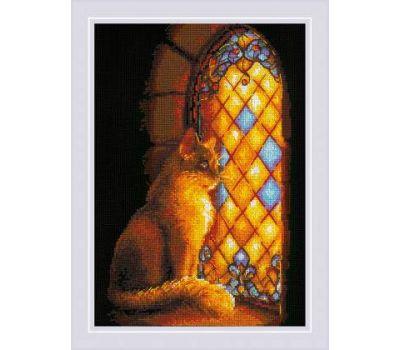"""1848 Набор для вышивания """"Риолис"""" Хранительница замка 21х30 см, 1848"""