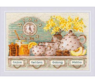"""1873 Набор для вышивания """"Риолис"""" Tea Time 30х21 см, 1873"""
