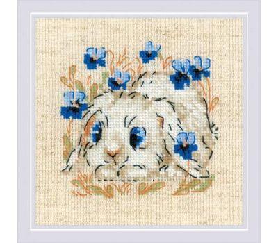"""1877 Набор для вышивания """"Риолис"""" Маленький зайка 13х13 см, 1877"""