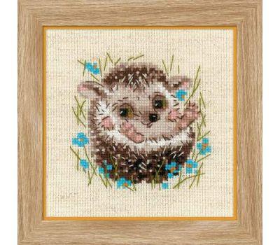 """1753 Набор для вышивания """"Риолис"""" Маленький ежик 13х13 см, 1753"""