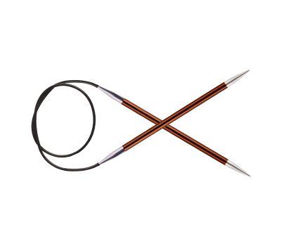 "100/5,50 Knit Pro Спицы круговые ""Zing"" алюминий №5,5, 47162"