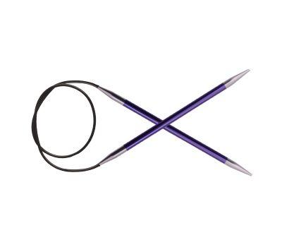 "100/7,00 Knit Pro Спицы круговые ""Zing"" алюминий №7,0, 47165"