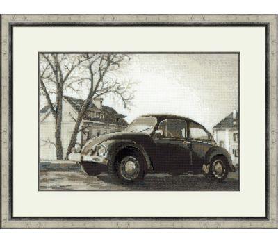 """1177 Набор для вышивания """"Риолис"""" Старая фотография. Жук 38х26 см, 1177"""