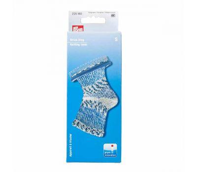 225160 Prym Приспособление для вязания носков и митенок, размер S, 28 штифтов пластик/металл фиолетовый/серебр. цв., 225160