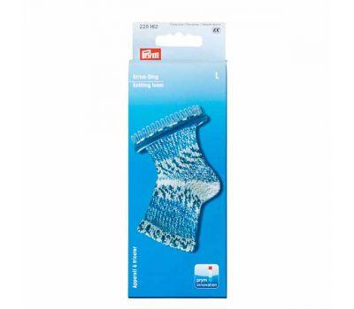 225162 Prym Приспособление для вязания носков и митенок, размер L, 36 штифтов пластик/металл фиолетовый/серебр. цв., 225162