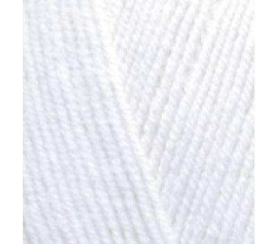 Alize Lanagold FINE Белый, 55