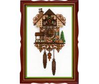 """1730 Набор для вышивания """"Риолис"""" Часы с кукушкой 25*40 см"""